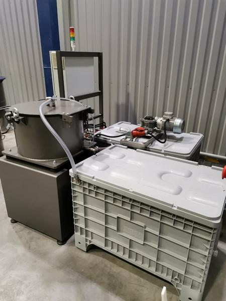 Система очистки технологической жидкости 3