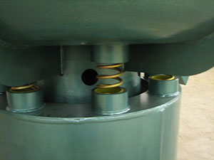 Пружины камеры кругового вибратора
